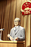 The late chinese cppcc vice chairman tan spoke at the meeting. Wax figure of overseas chinese leader tan kah kee(chen jiageng) in the museum, amoy city, china stock photos