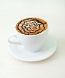 Late coffee with chocolate Royalty Free Stock Image