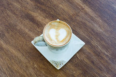 Late coffee. Royalty Free Stock Images