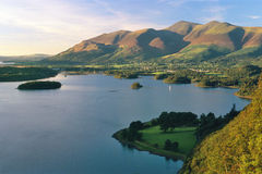 Late evening, Derwentwater, Cumbria Royalty Free Stock Photo