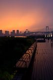 Late evening Odaiba, Tokyo Royalty Free Stock Images