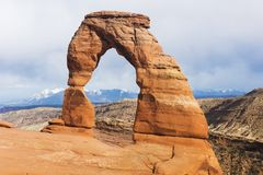 Delicate Arch in the USA Royalty Free Stock Images