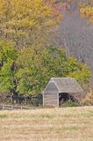 Late Fall Shed Stock Photography