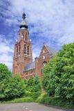 Late Gothic Saint-Katharina church Hoogstraten, Belgium Royalty Free Stock Images