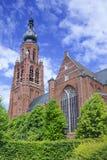 Late Gothic Saint-Katharina church Hoogstraten, Belgium Royalty Free Stock Photo