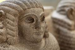 Late Hittite Basalt Sphinx sculpture Royalty Free Stock Images