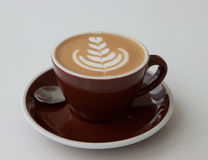 Late with latte art Stock Photos