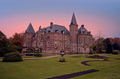 Late medieval castle `Twickel` near Delden Netherlands at Royalty Free Stock Photography