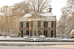 Late medieval house in Amsterdam Netherlands Royalty Free Stock Photography