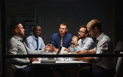 Late meeting Stock Photography