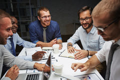 Late meeting Royalty Free Stock Photo