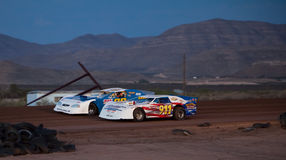 Late Model Car Racing Royalty Free Stock Image
