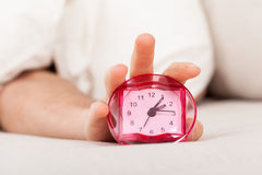Late morning alarm clock Stock Image