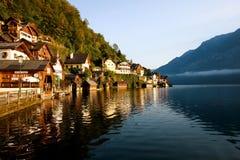Morning Lake Hallstatt Royalty Free Stock Photo