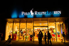 Late Night Shopping 3. Late Night Shopping (3 July 2015) OutletCity Metzingen/Germany Royalty Free Stock Photography