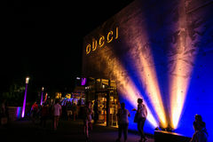 Late Night Shopping 4. Late Night Shopping (3 July 2015) OutletCity Metzingen/Germany Royalty Free Stock Photography