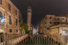 Late night in Venice stock photo
