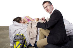 Late For School Royalty Free Stock Photography