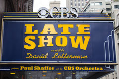 Late Show with David Letterman Stock Photo