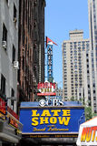 The Late Show sign by day Royalty Free Stock Photography