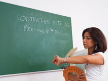 Late for site meeting Royalty Free Stock Photos
