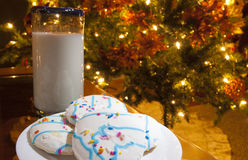 Late snack for Santa Royalty Free Stock Photography