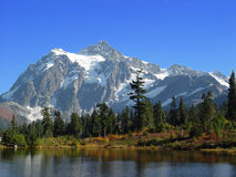 Late Summer Mt Shuksan Stock Photography