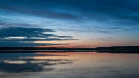 Late summer sunset Stock Image