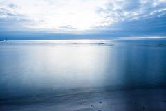 Late sunset sea Stock Photos