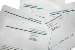 Late Tax Return Penalty Stock Image
