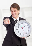 Late for work Royalty Free Stock Images