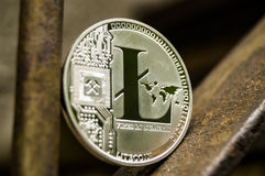 Latecoin is a modern way of exchange and this crypto currency is a convenient means of payment in the financial and web Royalty Free Stock Photos