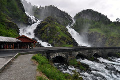 Latefossen Stockfotos