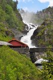 Latefossen, Norway Stock Images