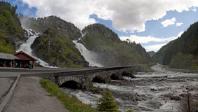 Latefossen, Norway Royalty Free Stock Images