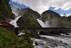 Latefossen, Norway Royalty Free Stock Image