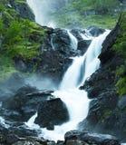 Latefossen waterfall Royalty Free Stock Photo