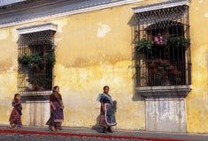 LATEIN-AMERIKA GUATEMALA ANTIGUA Stockbilder