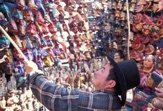 LATEIN-AMERIKA GUATEMALA CHICHI Stockfotos
