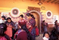 LATEIN-AMERIKA GUATEMALA CHICHI Lizenzfreie Stockfotos