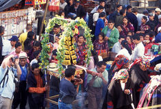 LATEIN-AMERIKA GUATEMALA CHICHI Lizenzfreie Stockfotografie