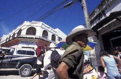 LATEIN-AMERIKA HONDURAS SAN PEDRO SULA stockbilder