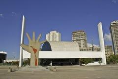 Lateinamerika-Denkmal stockfoto
