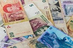 Lateinamerikanische Banknoten Lizenzfreie Stockbilder