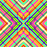 Lateinamerikanisches mexikanisches spanisches nahtloses Muster Stockbild