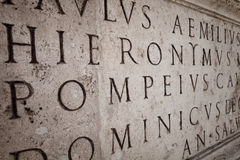 Lateinisch stockfotografie