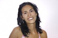 Lateinische junge Frau der Schönheit Lizenzfreie Stockfotos