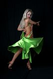 Lateinischer Tänzer Stockfotos