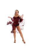 Lateinischer Tänzer Stockfoto