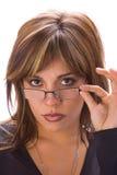 Lateinisches Chic mit Gläsern Lizenzfreies Stockfoto